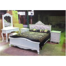 OFFWHITE CLASSIC  QUEEN BEDROOM SUITE (OUT OF STOCK)