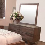 SUSAN V Hardwood DRESSER and MIRROR