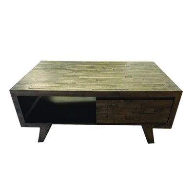 SUSAN V HARDWOOD COFFEE TABLE