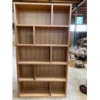 LOCAL MADE TASSIE OAK VOGUE BOOKCASE 1100W