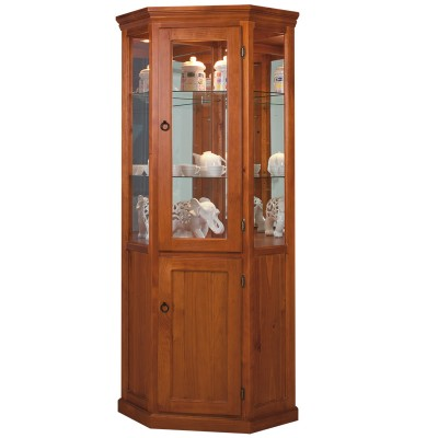 WCCD GLASS CORNER DISPLAY UNIT / DISPLAY CABINET